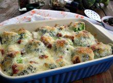 Zapečena brokula