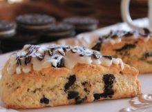 Oreo kolač - Oreo cookies scones