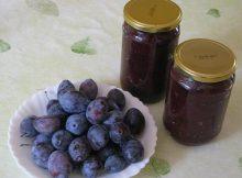 Domaći džem od šljiva