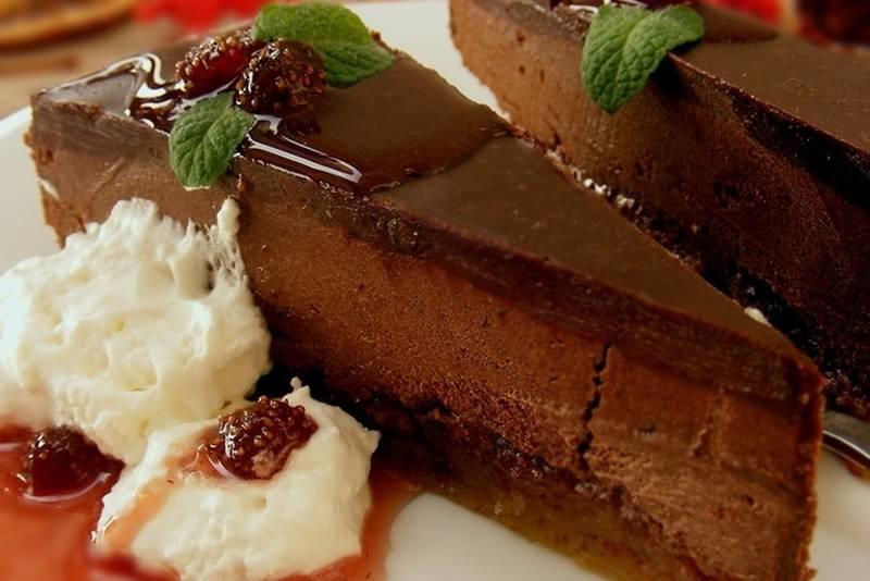 Frangipane čokoladna torta