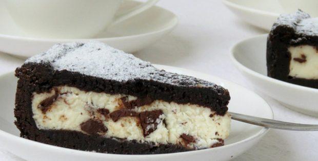 Čokoladna crostata s ricottom i mascarponeom