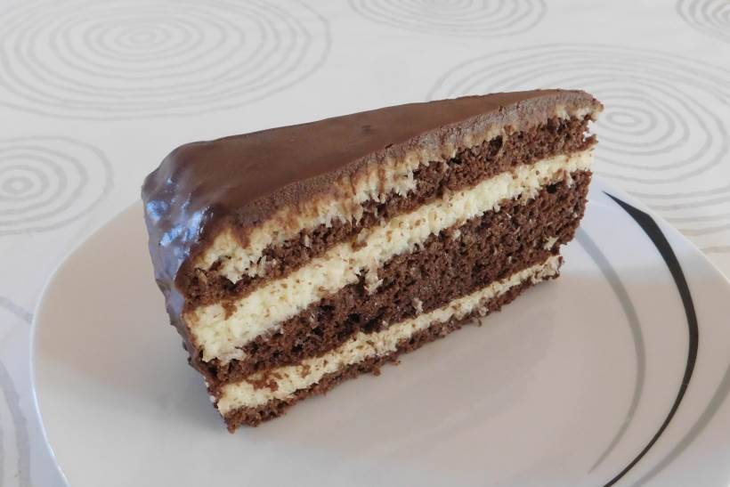 ČOKO-KOKO TORTA (2): Božanstveni spoj kokosa i čokolade!
