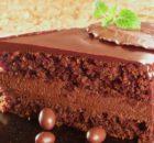 TORTA OD ČOKOLADE: Fina čokoladna torta s aromom badema i naranče